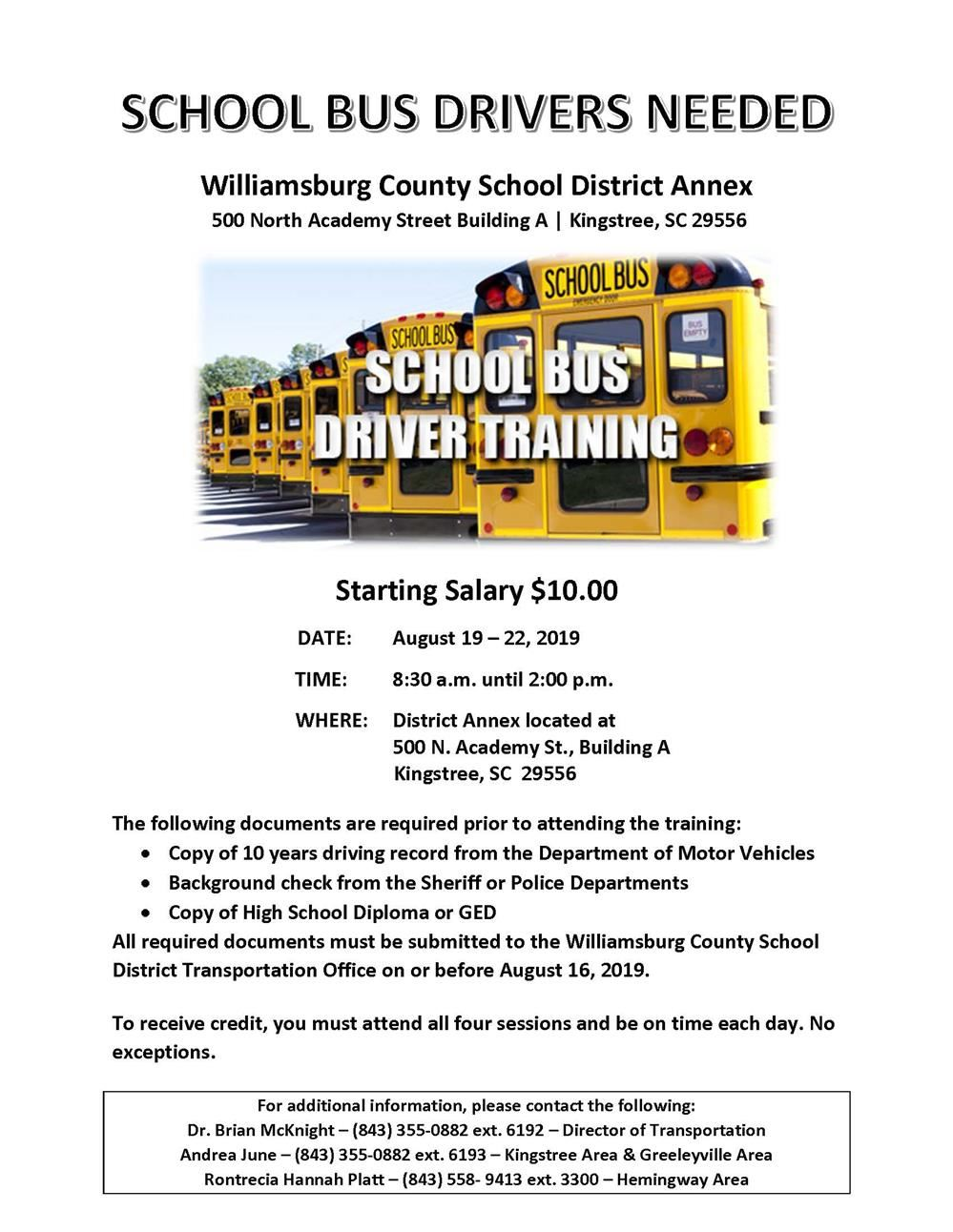 Williamsburg County School District / Homepage