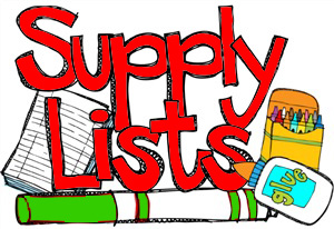 GES School Supply List