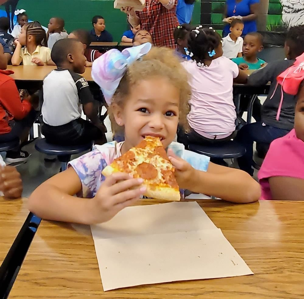 Pizza Party at HES