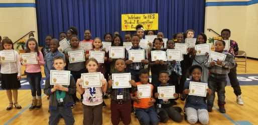 Photo of Honor Roll Students