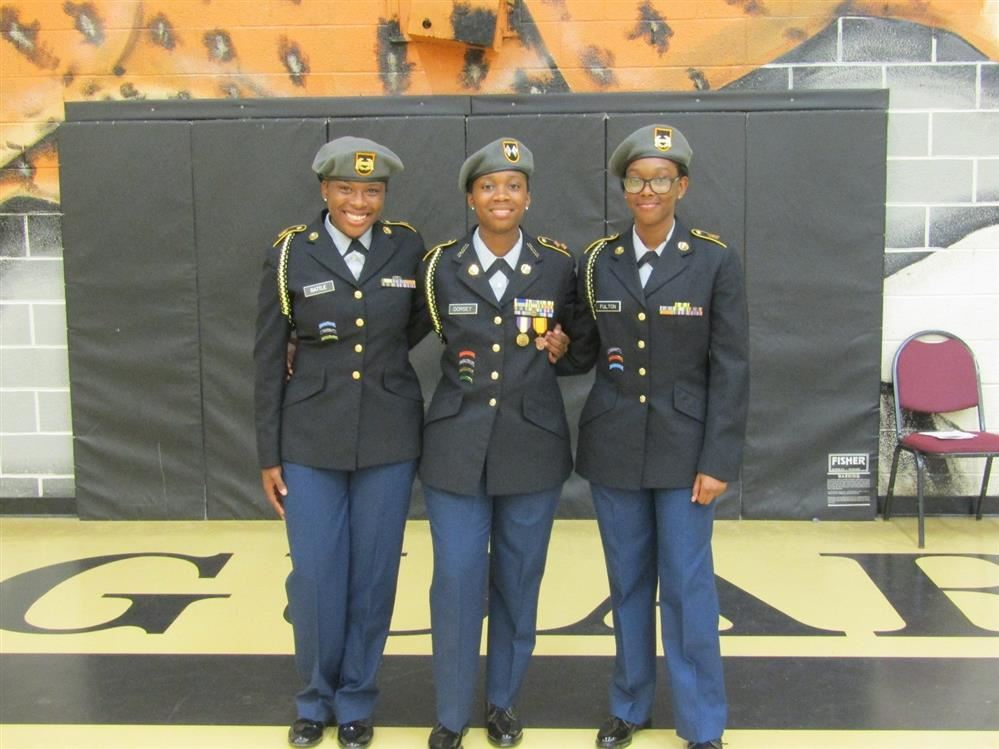 Kingstree High School AJROTC Conducts Change of Command Ceremony