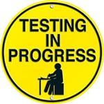 Testing in Progress Logo