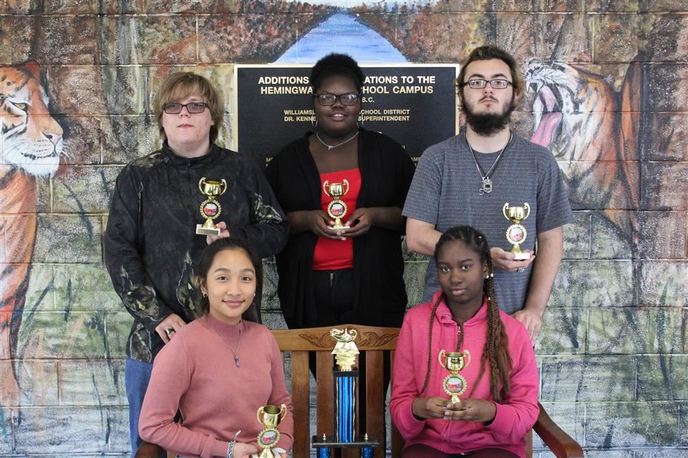 HHS Students Win Battle of Books Competition