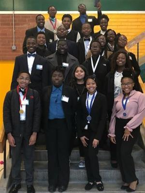 FBLA Students Compete at District Level